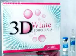 3D White Glutathione